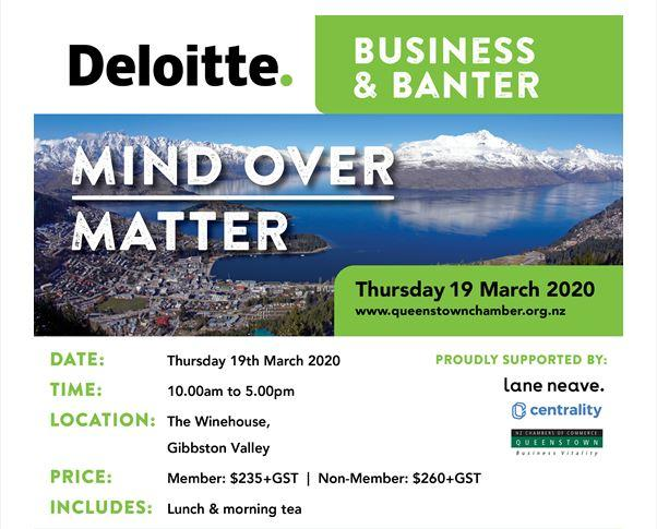Deloitte Business & Banter 2020